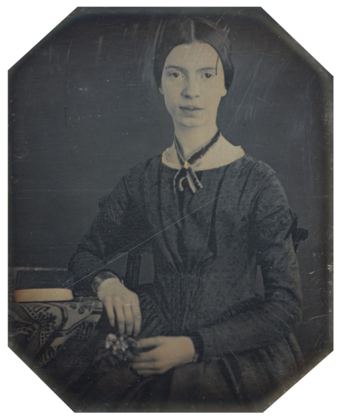 File:Black-white photograph of Emily Dickinson2.png